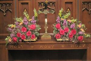 Altar flowers 2014