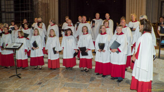 Chartres Cathedral, concert, July 2015
