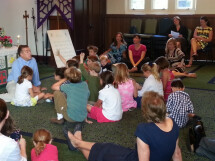 Children's Chapel in Action