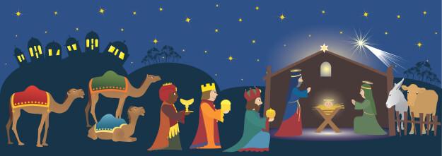 Tres Reyes (Three Kings) Celebration and Potluck Dinner