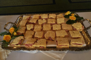 Hoare party sandwiches