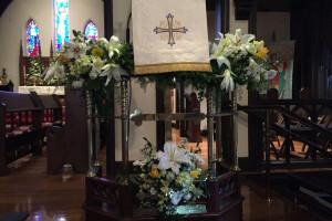 Easter pulpit 2017