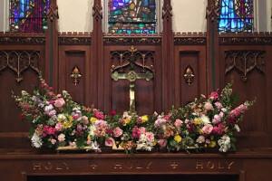 Flowers altar 2017