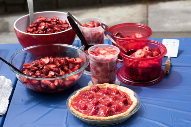 Strawberry Sunday!