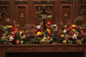 Altar flowers All Saints 2017