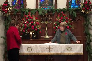 Christmas 2017 altar