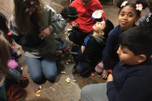Tres Reyes 2017 pinata candy