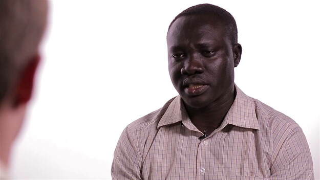 """Conversation with a """"Lost Boy"""" of Sudan"""