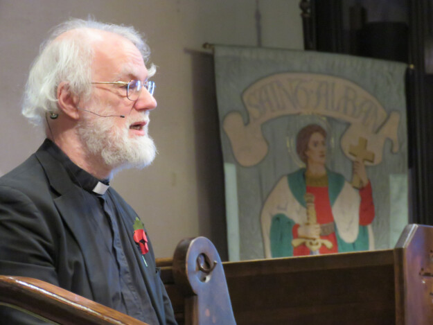 Rowan Williams Visit