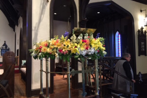 Easter 2019 pulpit